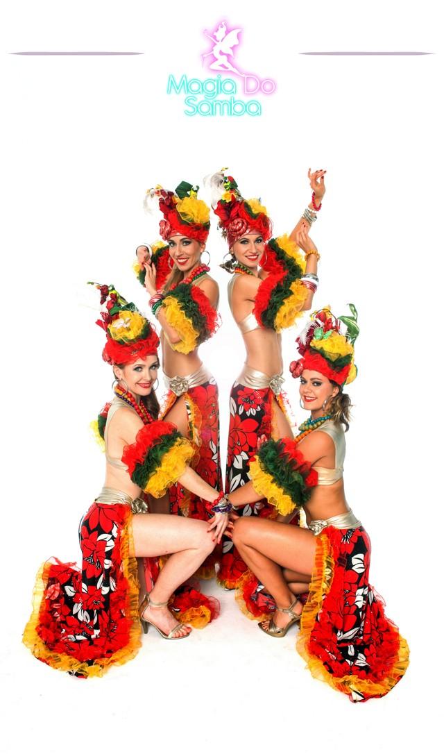 Pokazy samby - Carmen Miranda